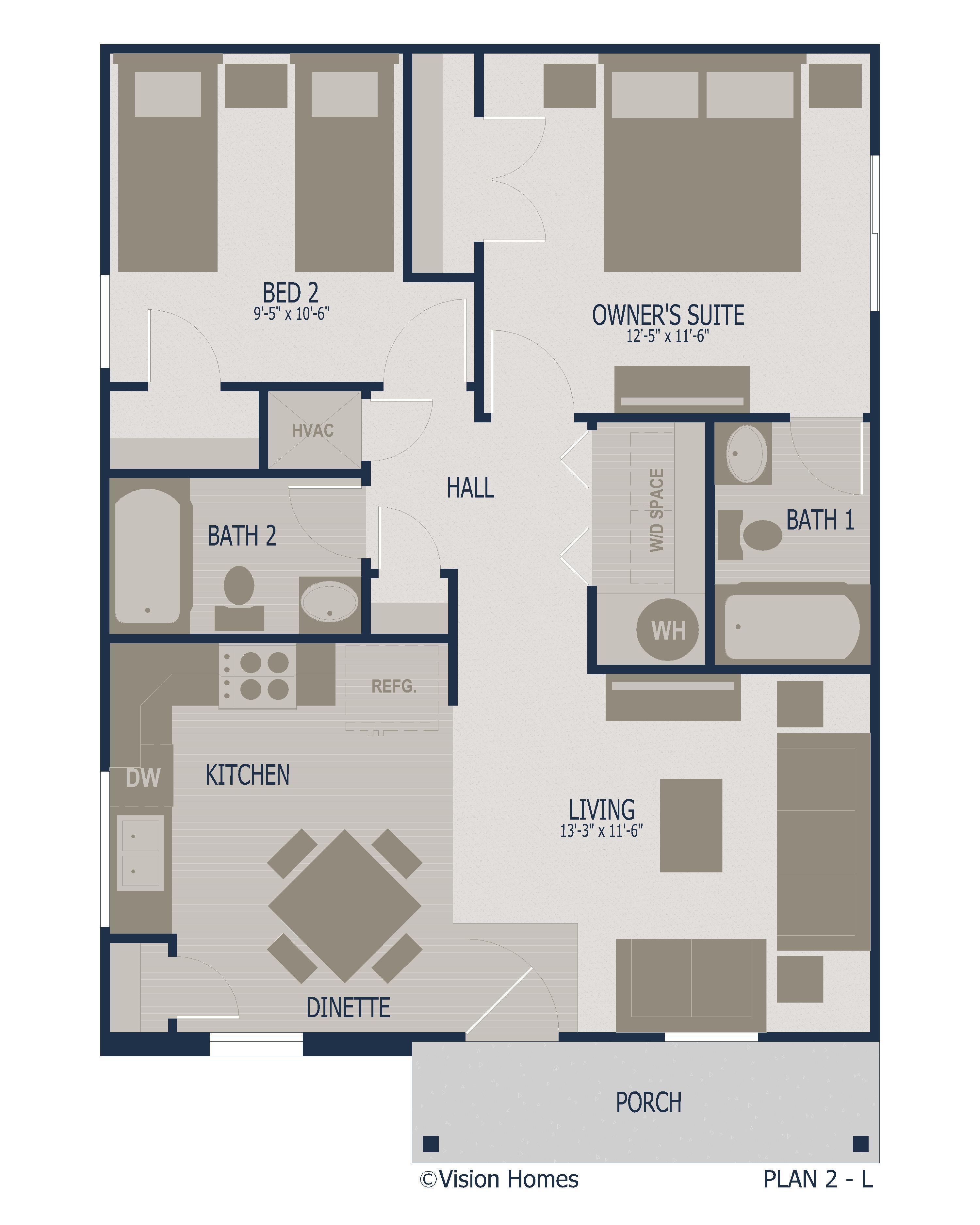 PLAN 2 Floorplan